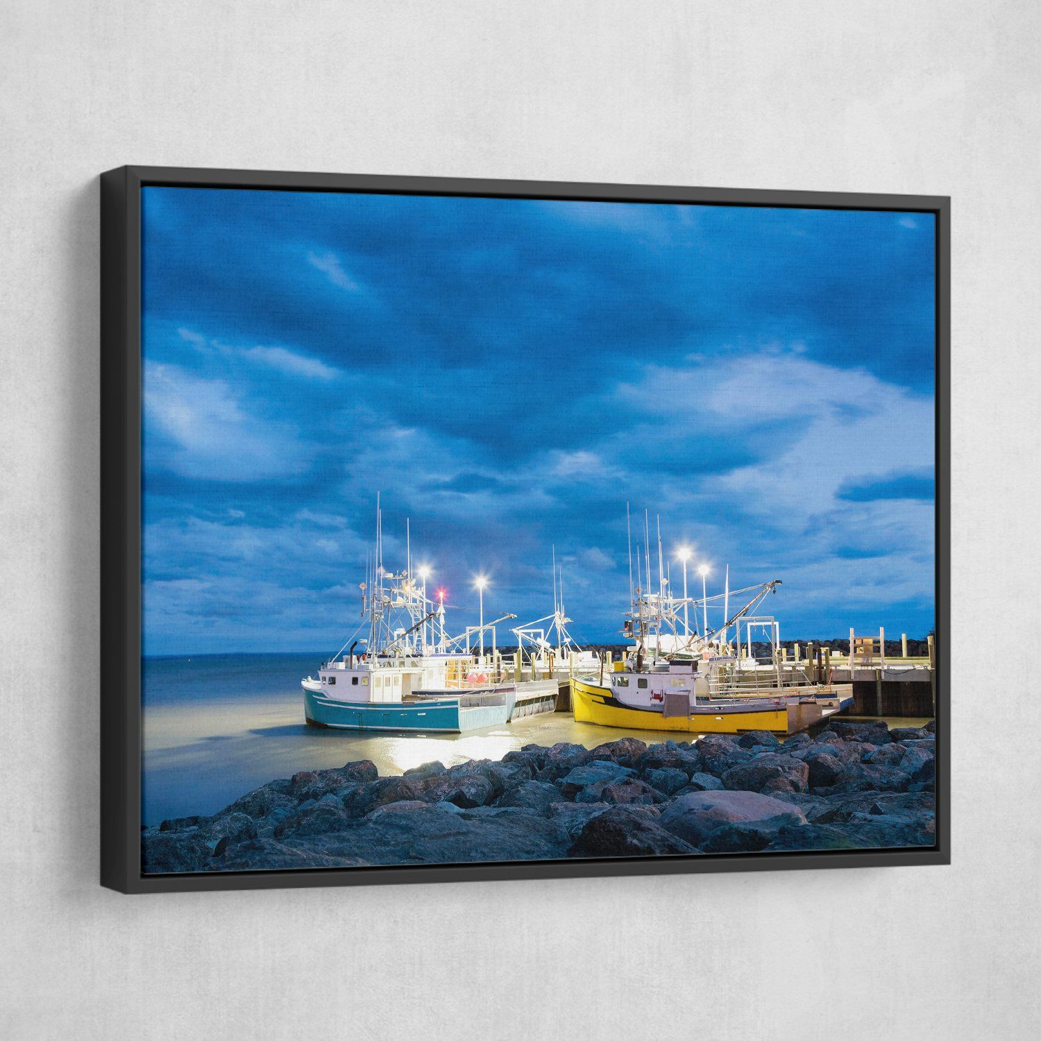 Fishing Boats wall art