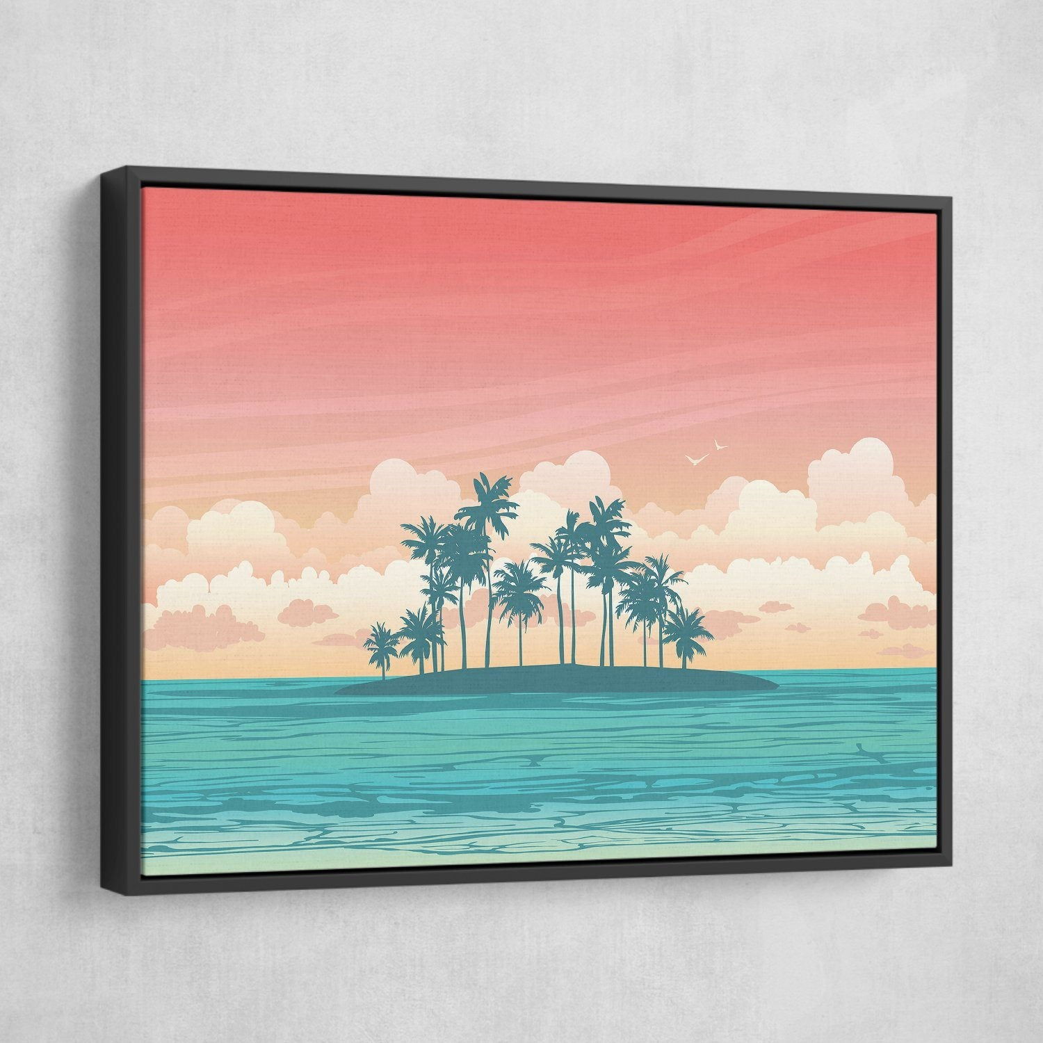 Tropical Island art