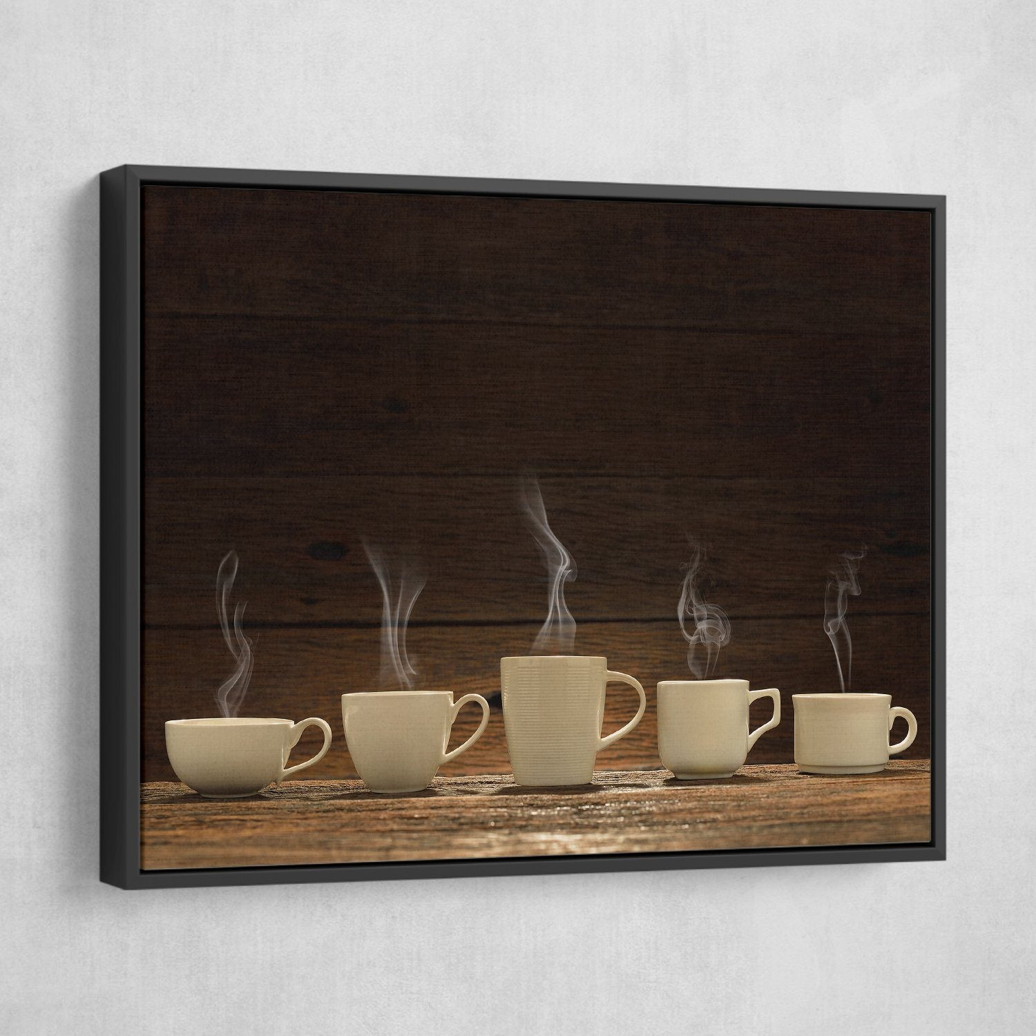 Variety of coffee Cups wall art