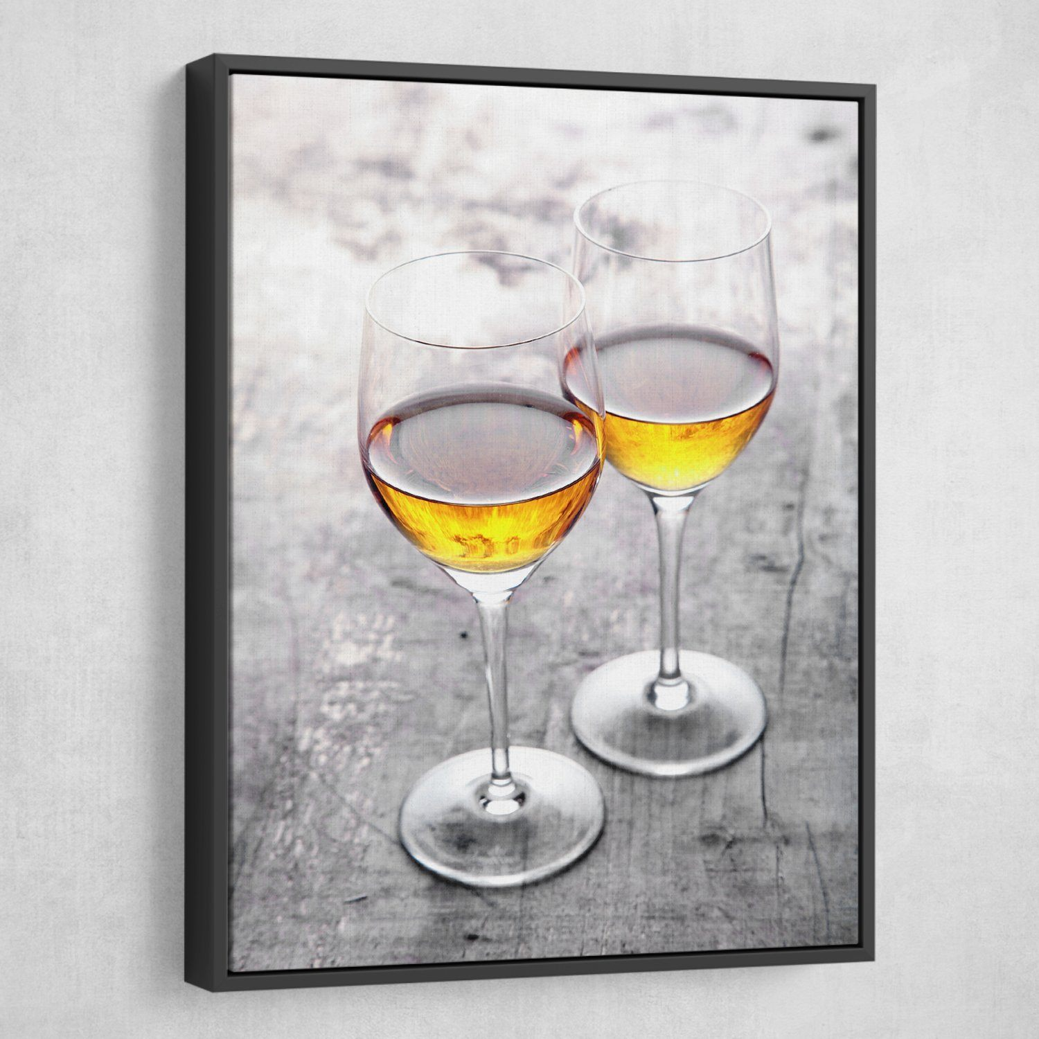 Cheers for Two wine art