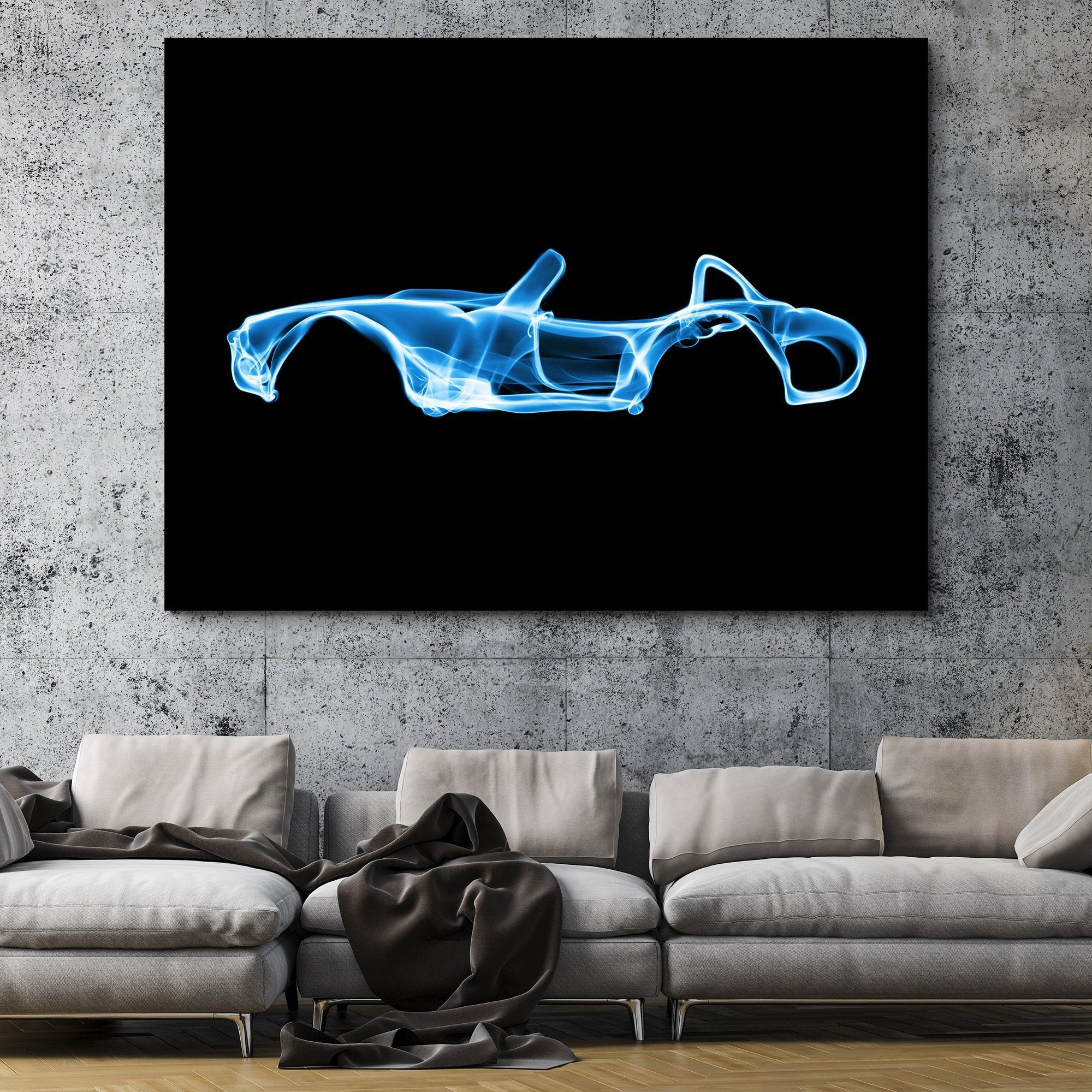 Shelby Cobra wall art