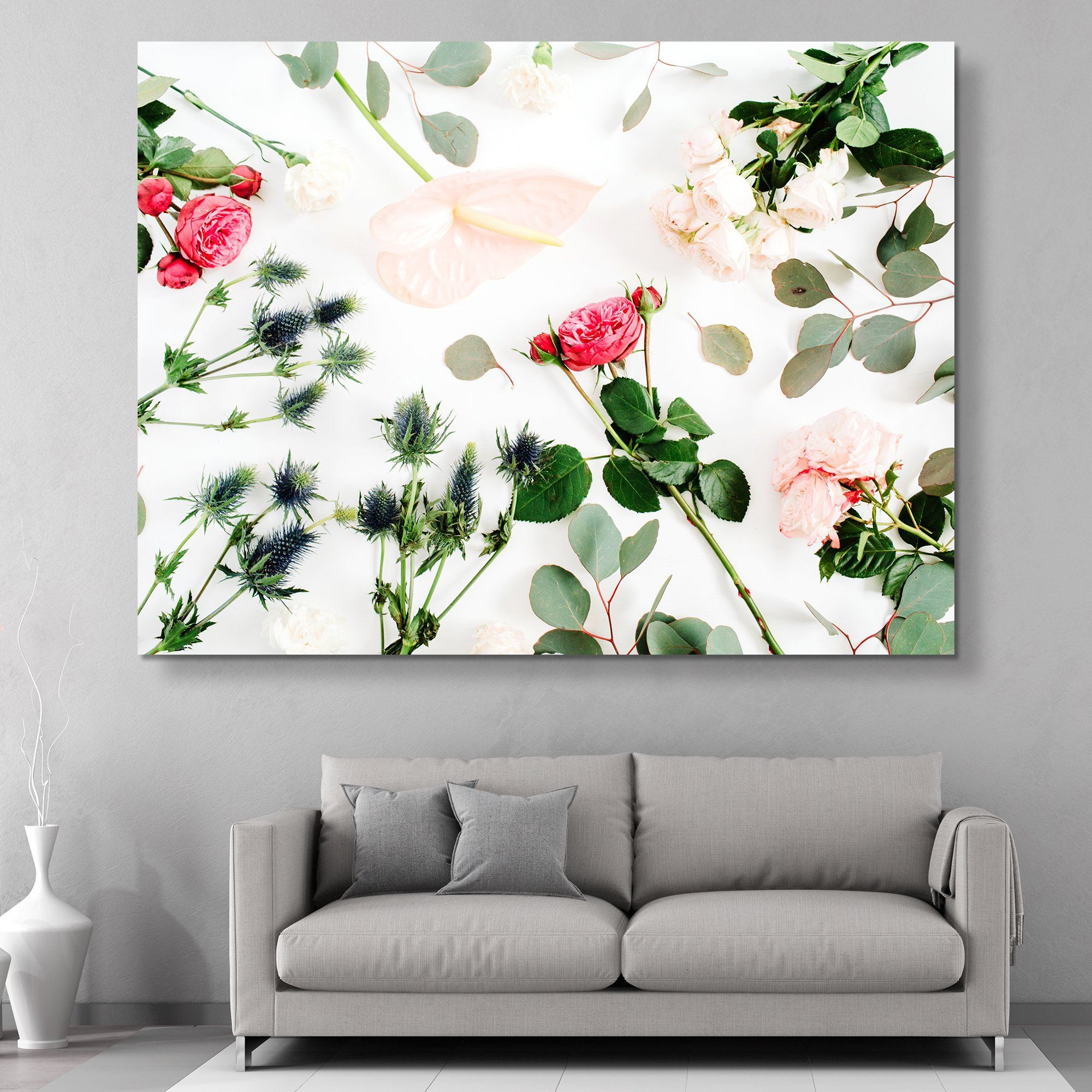 Floral Spread wall art