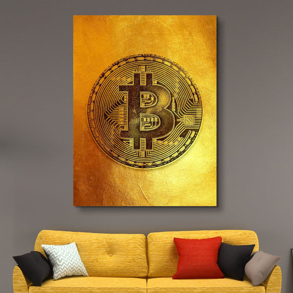 Bitcoin Fever wall art