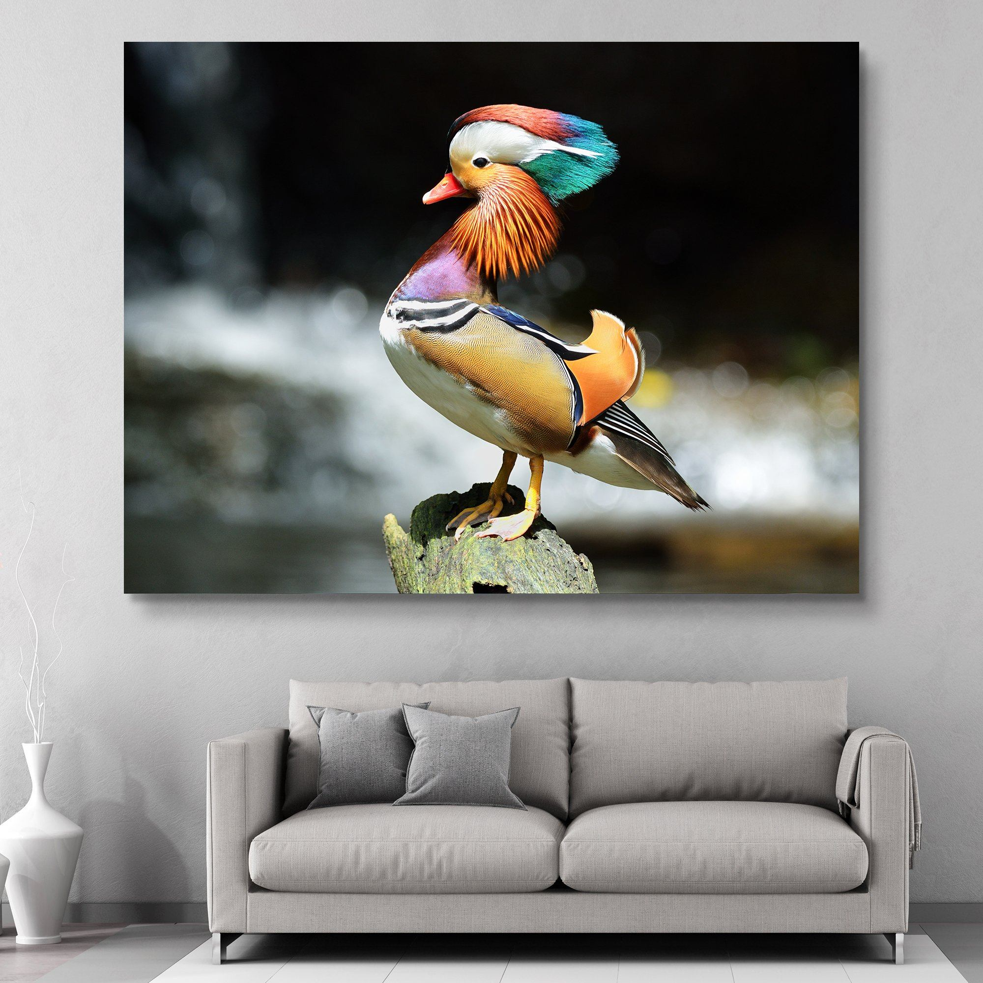 Mandarin Duck wall art