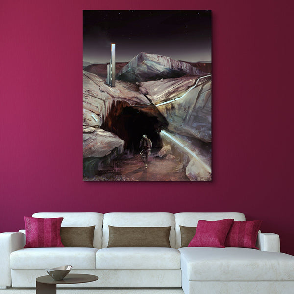 Voyages of Exploration - Pluto wall art