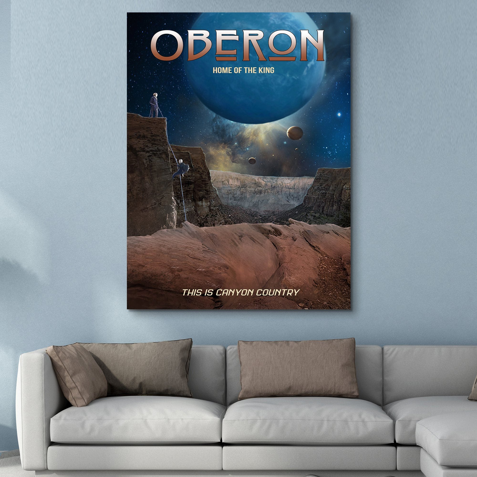 Oberon - Home of the King wall art
