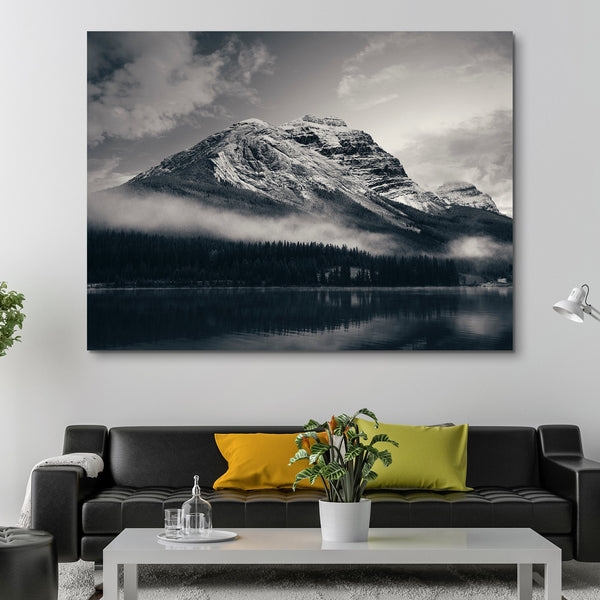 Snow Capped Mountain - Banff National Park wall art