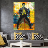 King of Rock and Roll - Elvis Presley wall art