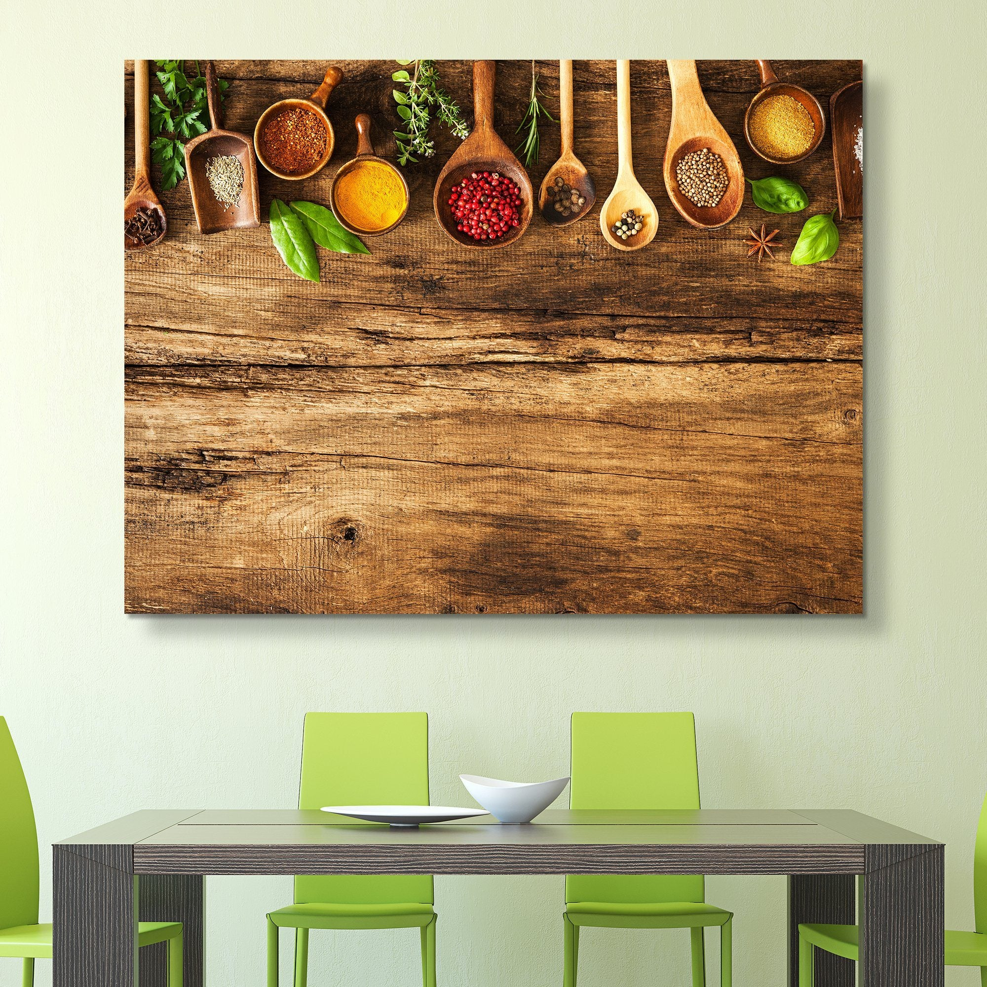 Various Colorful Spices wall art