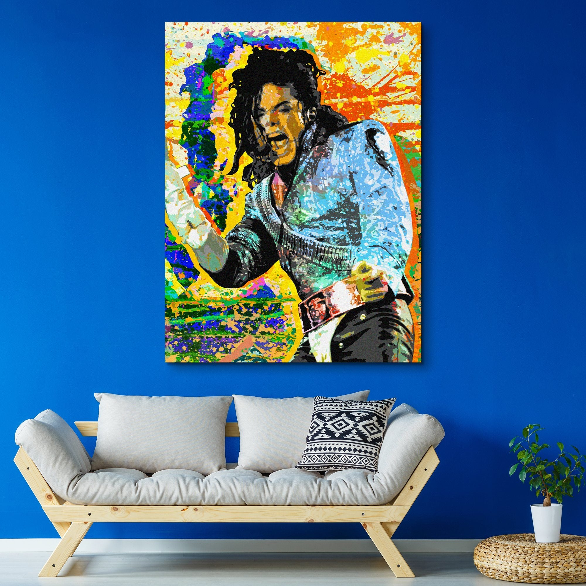 King of Pop wall art