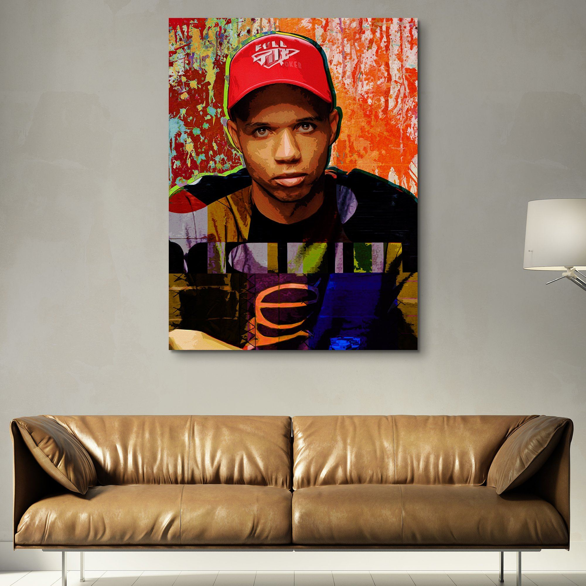 Phil Ivey wall art