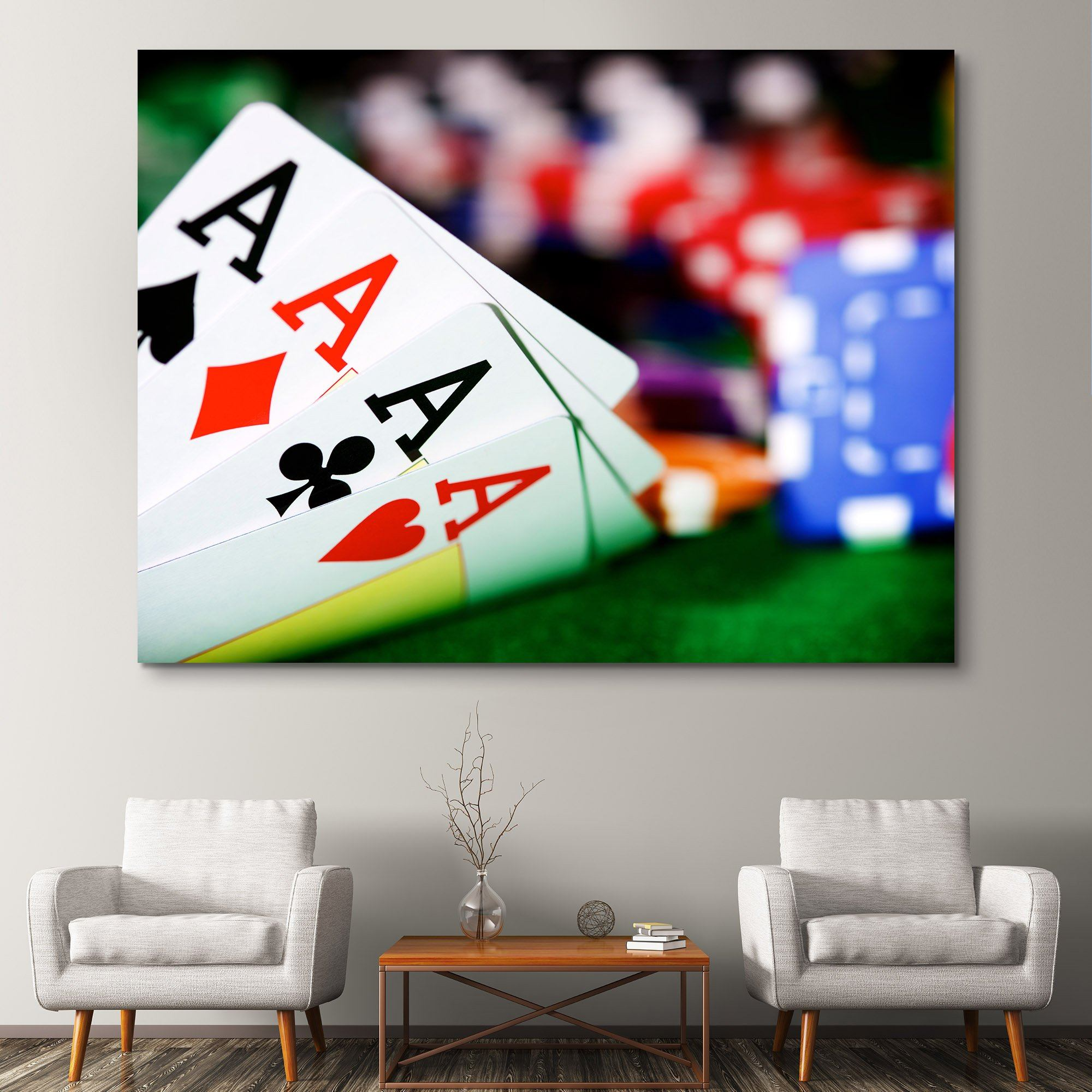 Poker Aces wall art