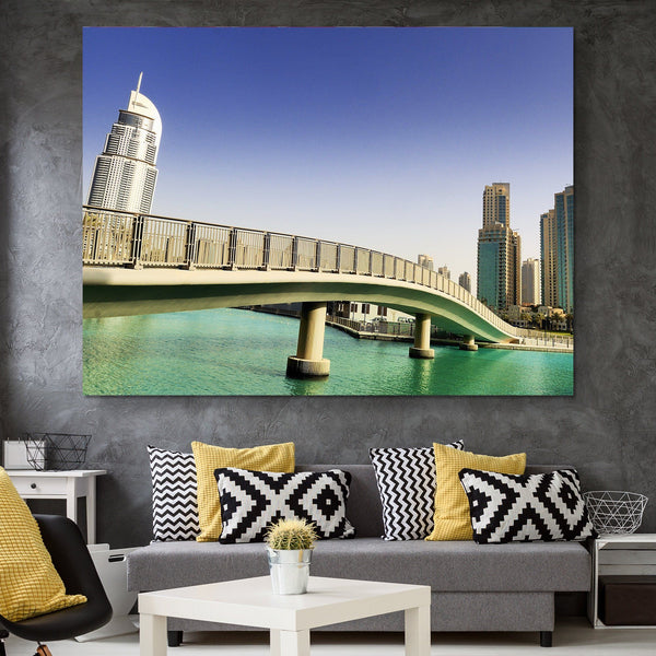 Footbridge In UAE wall art