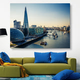 Thames and London City wall art