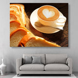 Some Bread and Latte wall art