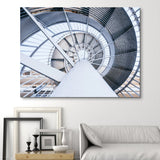 Spinning Steel Staircase wall art