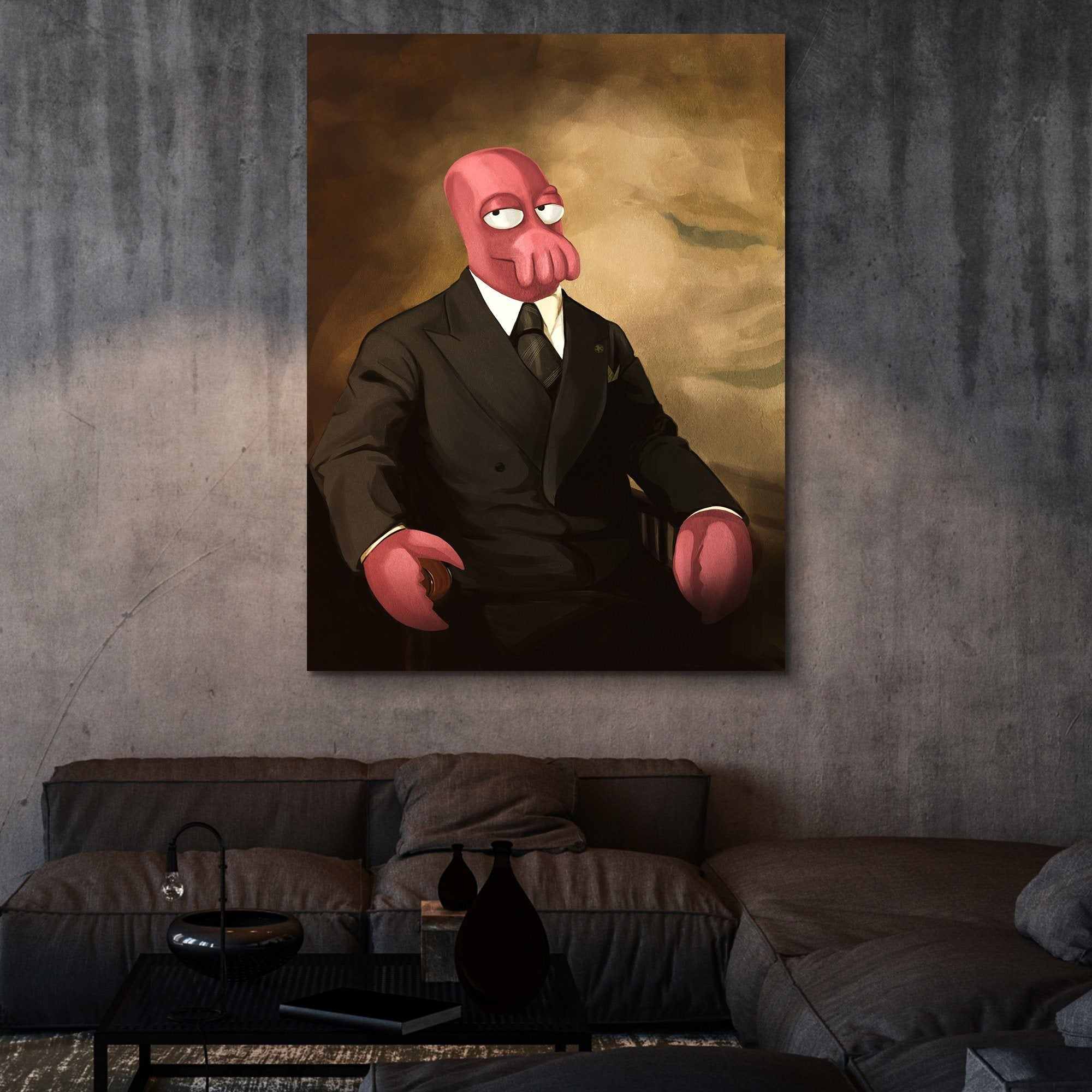 Zoidberg For President wall art