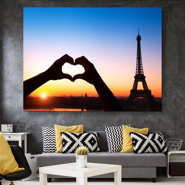 Love in Paris wall art