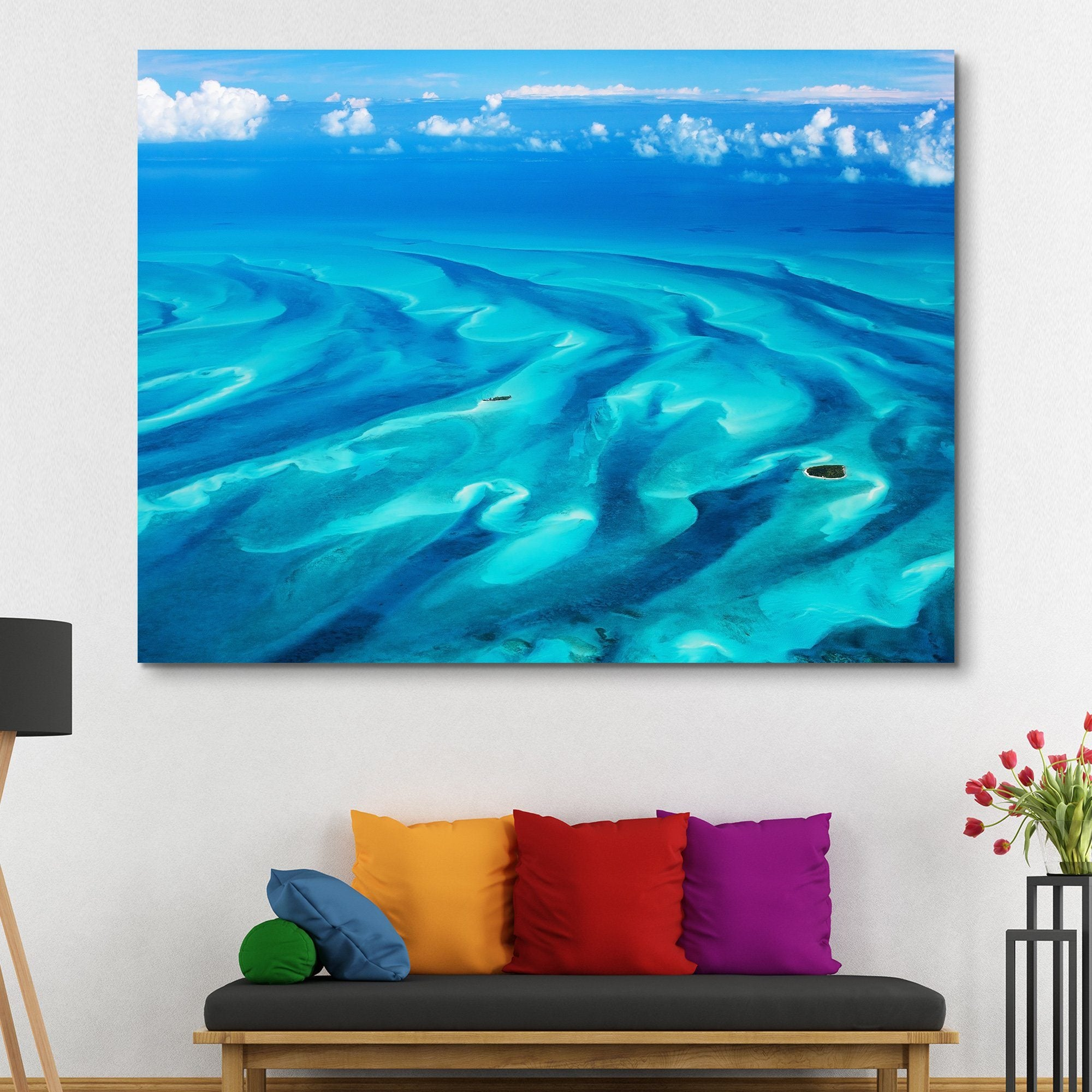 Beautiful Bahamas wall art
