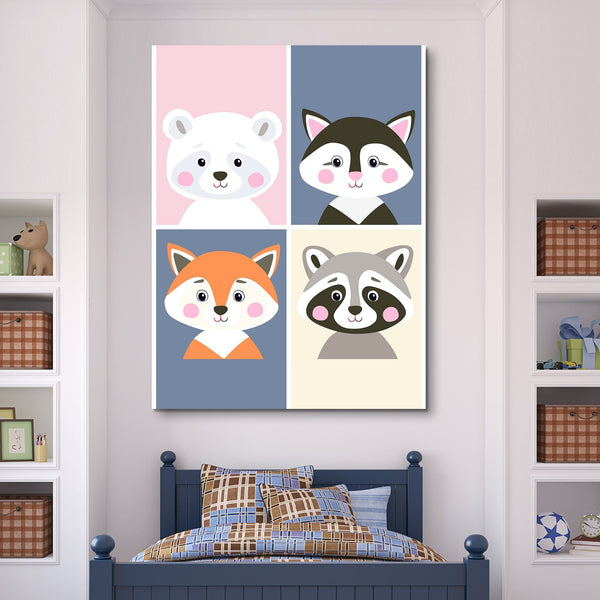 Children Cartoon wall art