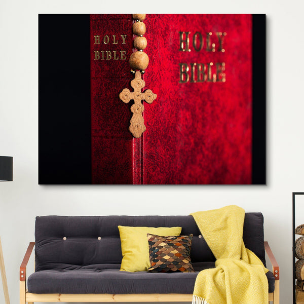 The Holy Bible wall art
