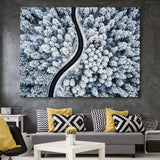 Snow Forest wall art