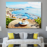 Cup of coffee wall art