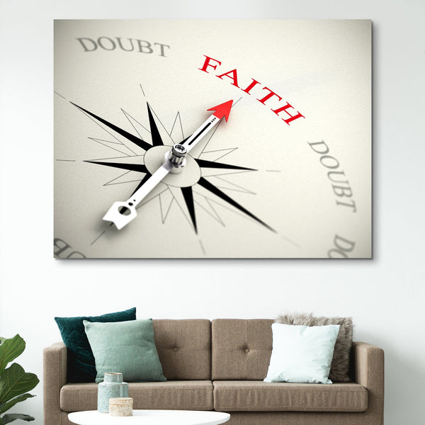 Point on Faith wall art
