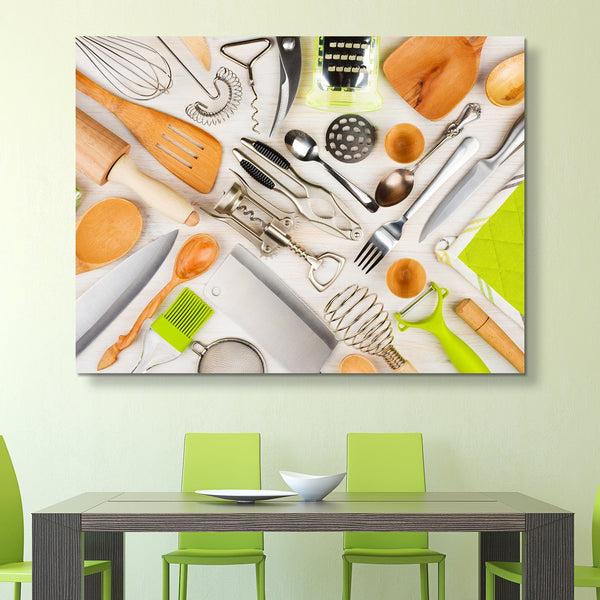 Kitchen Utensils wall art