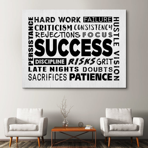 Success Soup wall art