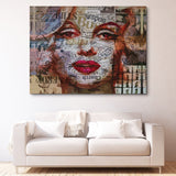 Miss Monroe wall art