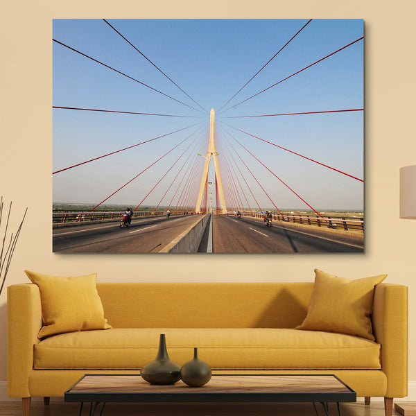 Structural Bridge wall art