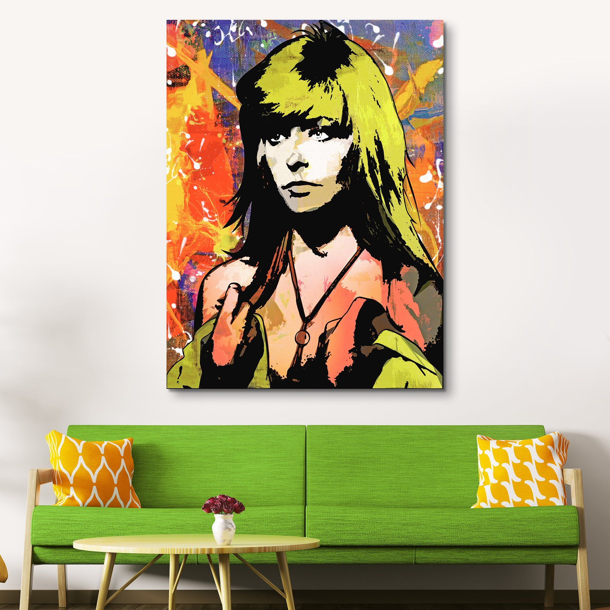 Farrah Fawcett wall art