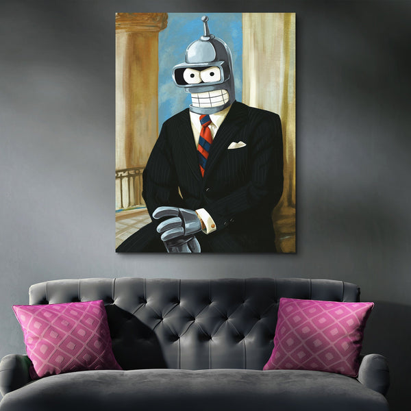 Bender For President wall art