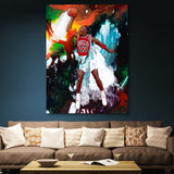Michael Jordan wall art