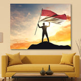 Indonesia Flag wall art