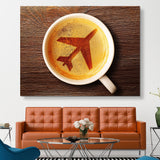 Airport Coffee wall art
