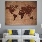 World of Coffee wall art