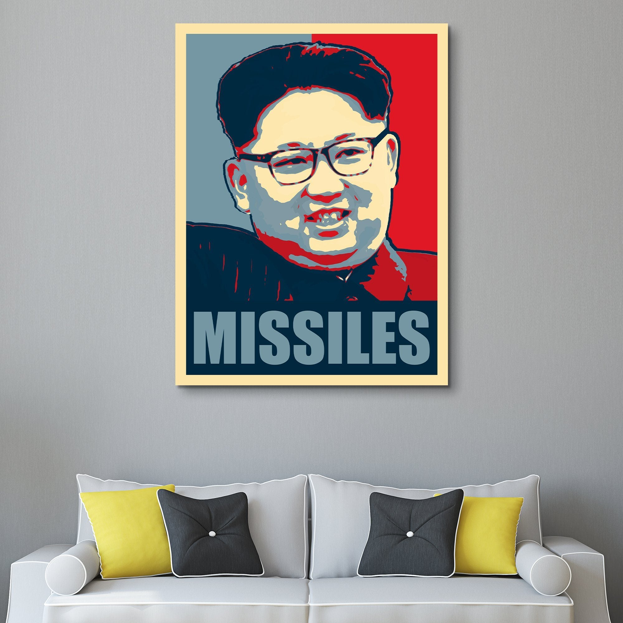 Missile Man wall art