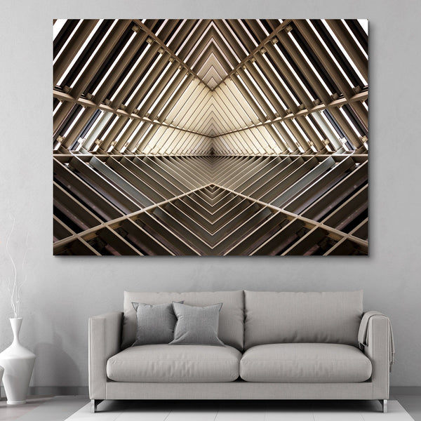 Metal Structure wall art