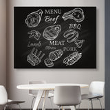 Menu wall art