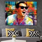Laughing Leo wall art