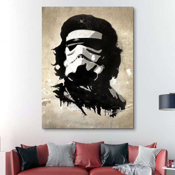 Che Trooper wall art