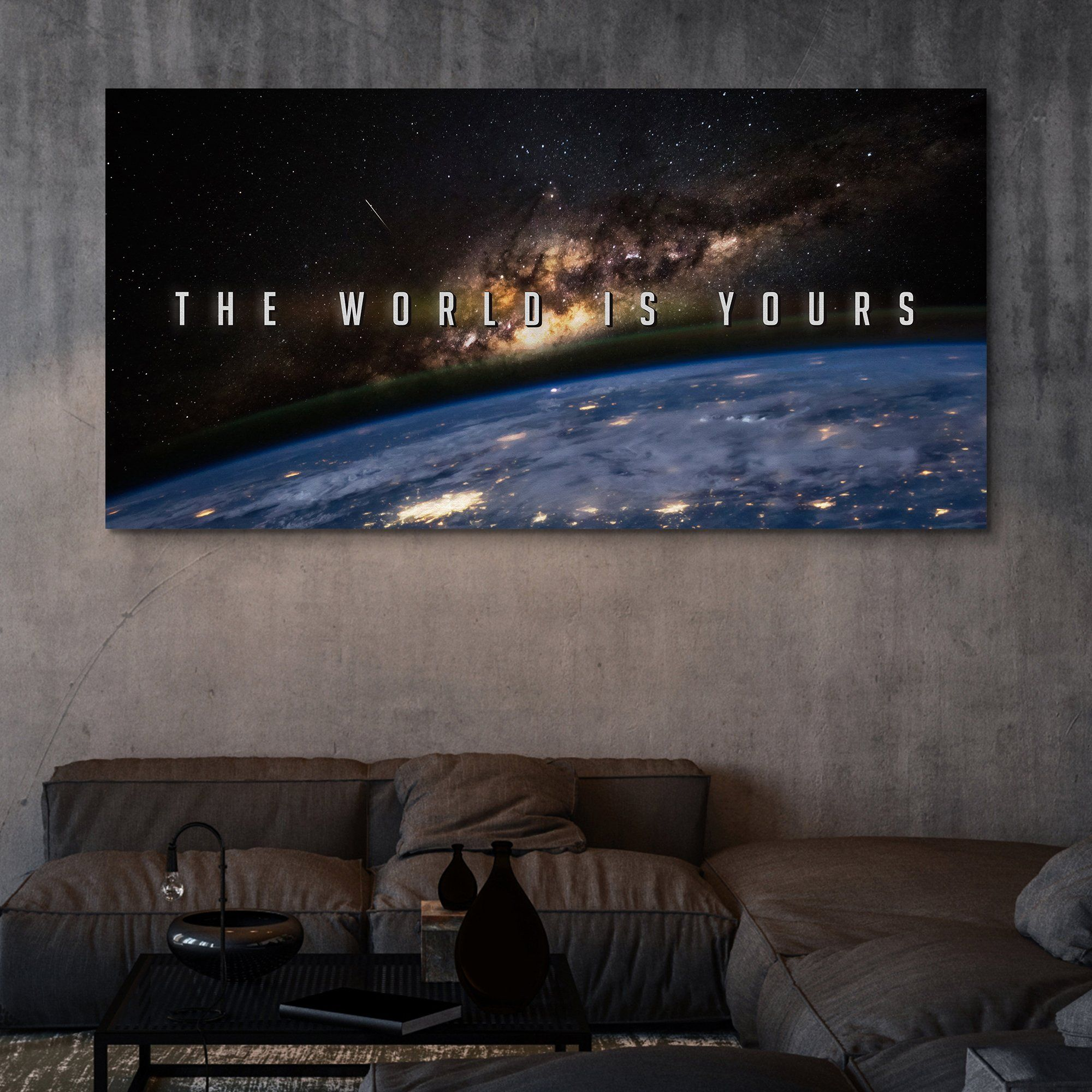 The World Is Yours wall art