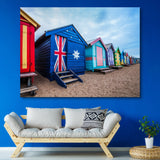 Australia Flag House wall art