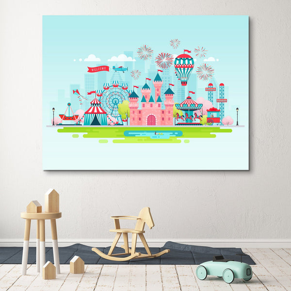 Dream Castle wall art