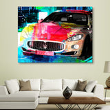 Maserati Nights wall art