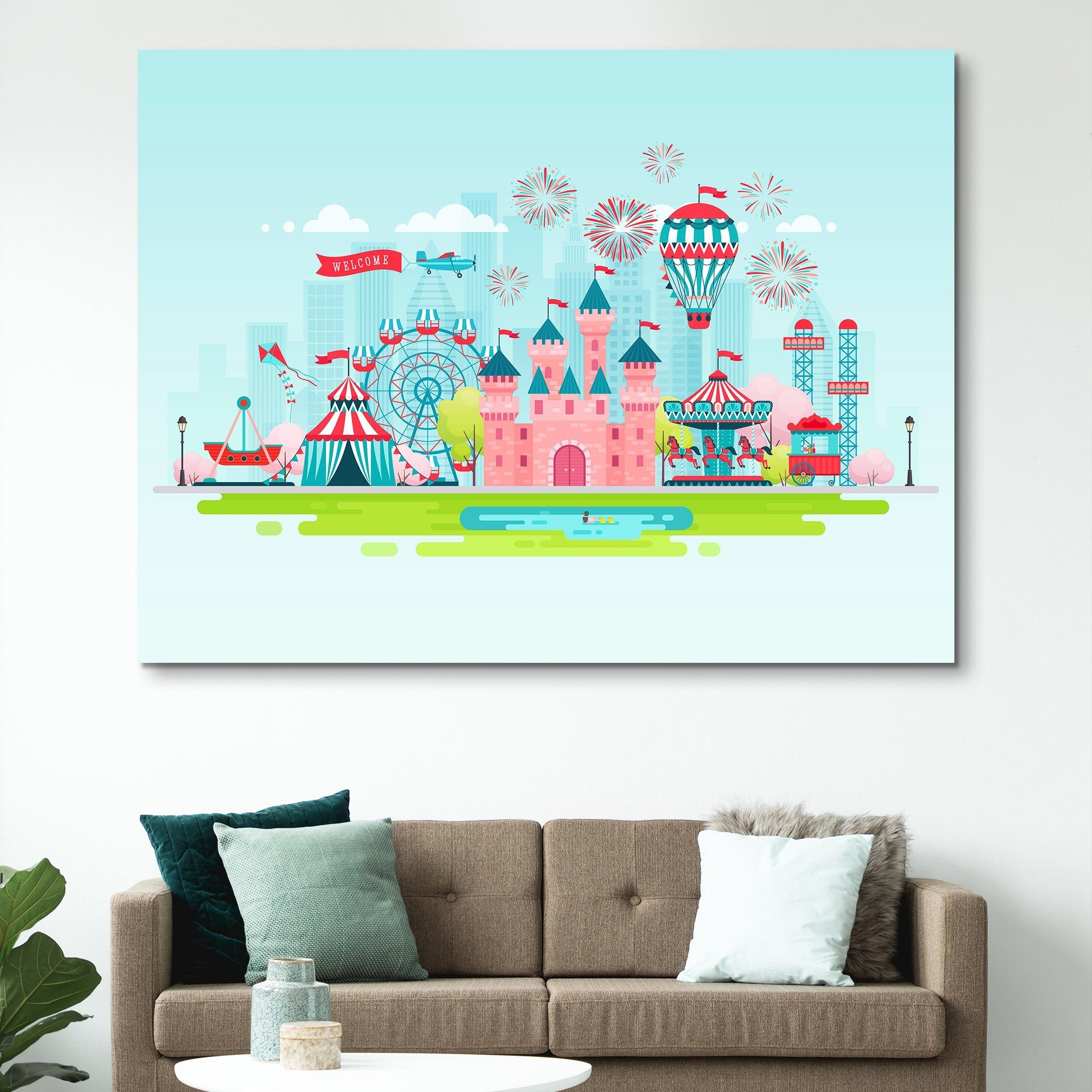 Kids Zone wall art