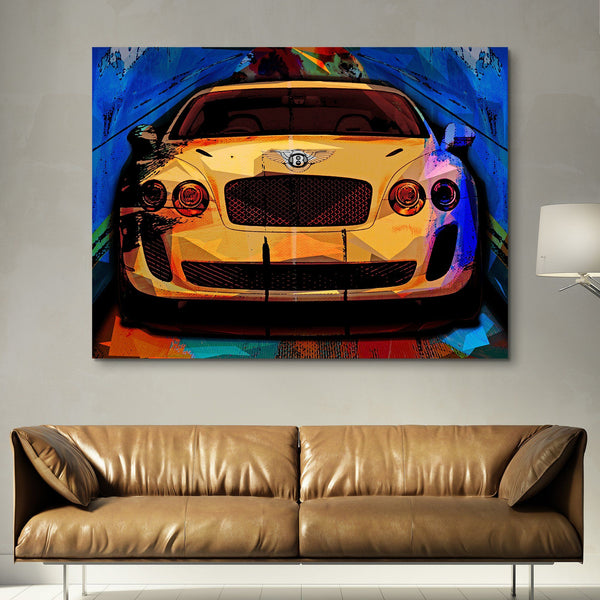 Bentley Super Sport wall art