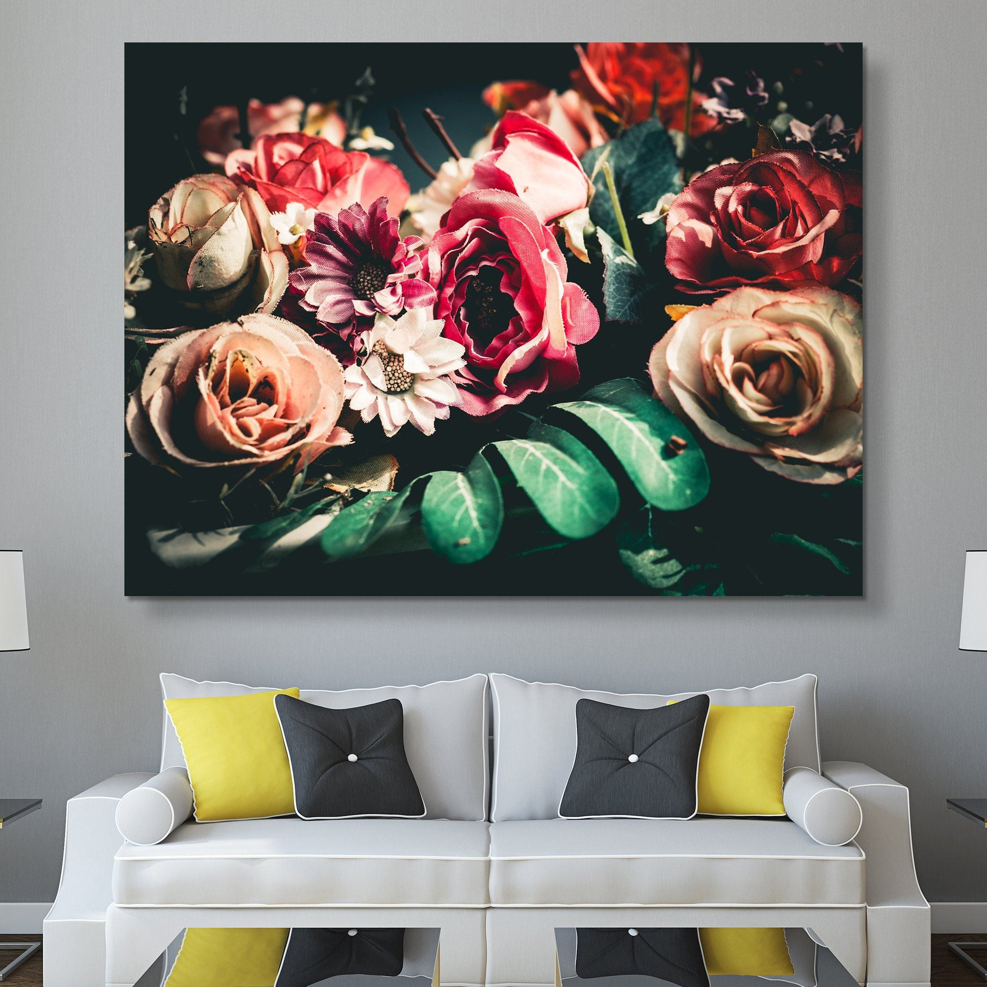 Retro Floral wall art